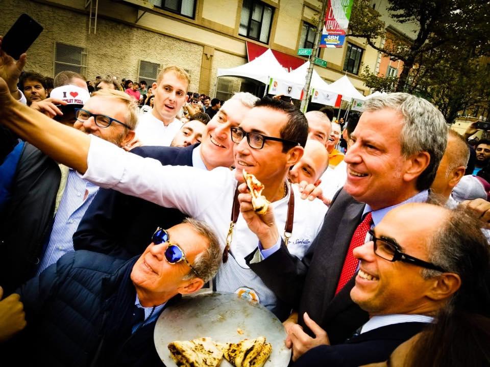 Napoli Pizza Village a New York - Con Gino Sorbillo