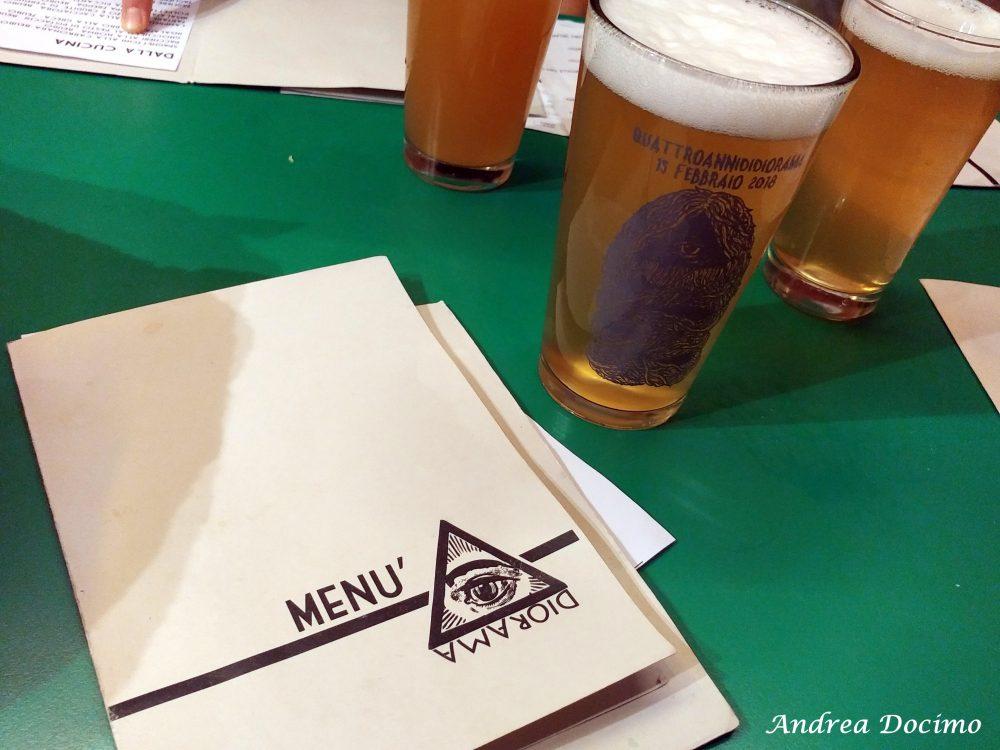 Diorama Pub a Firenze. Menu e birre