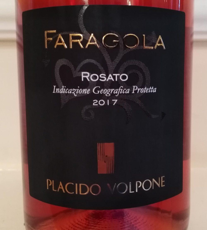 Faragola Rosato Puglia Igp 2017 Placido Volpone