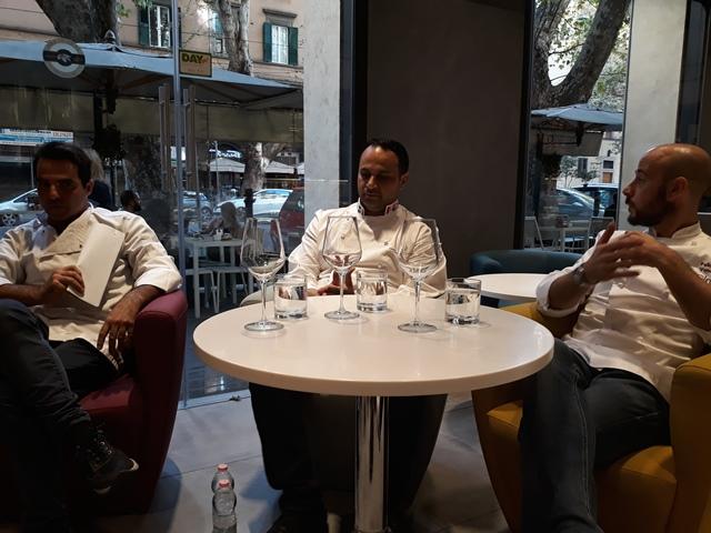 Giancarlo De Rosa, Fabrizio Donatone e Felice Venanzi