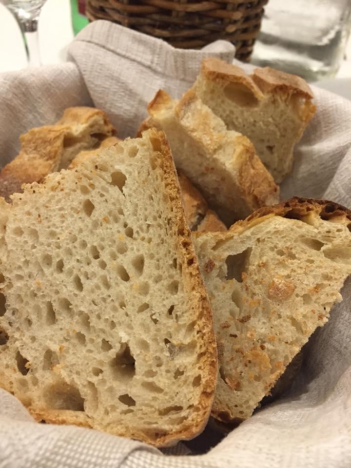 Hostaria Romana, il pane