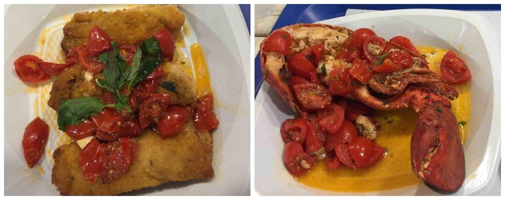Il mare di Terracina - altri piatti