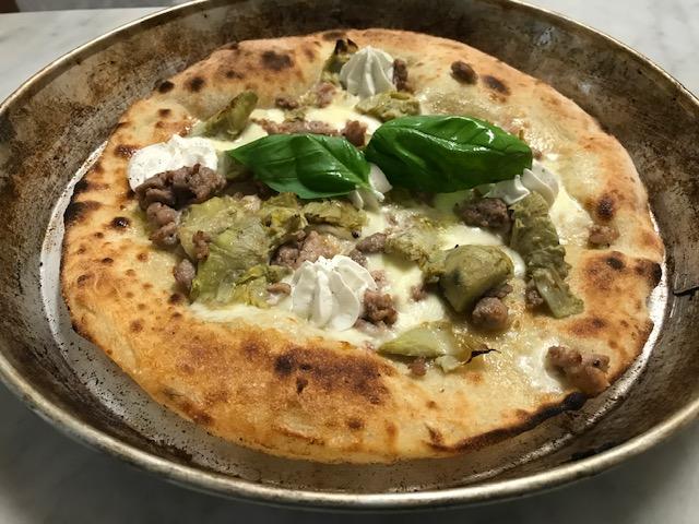 Lievitalmente Pino - Pizza Giudia
