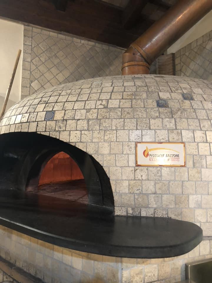 Lo Chalet, il forno
