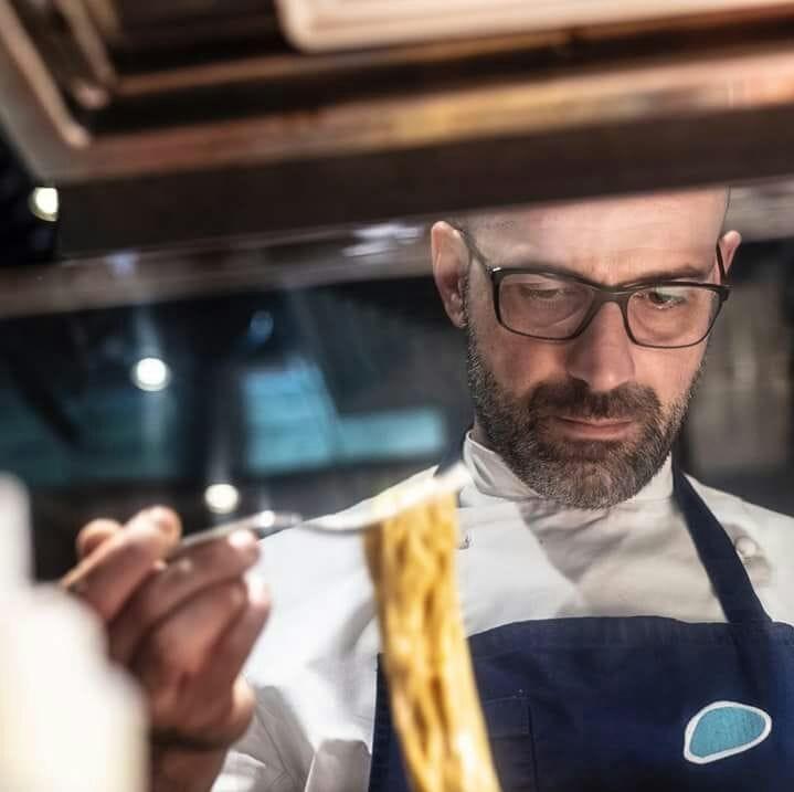 Lo chef Marco Rispo