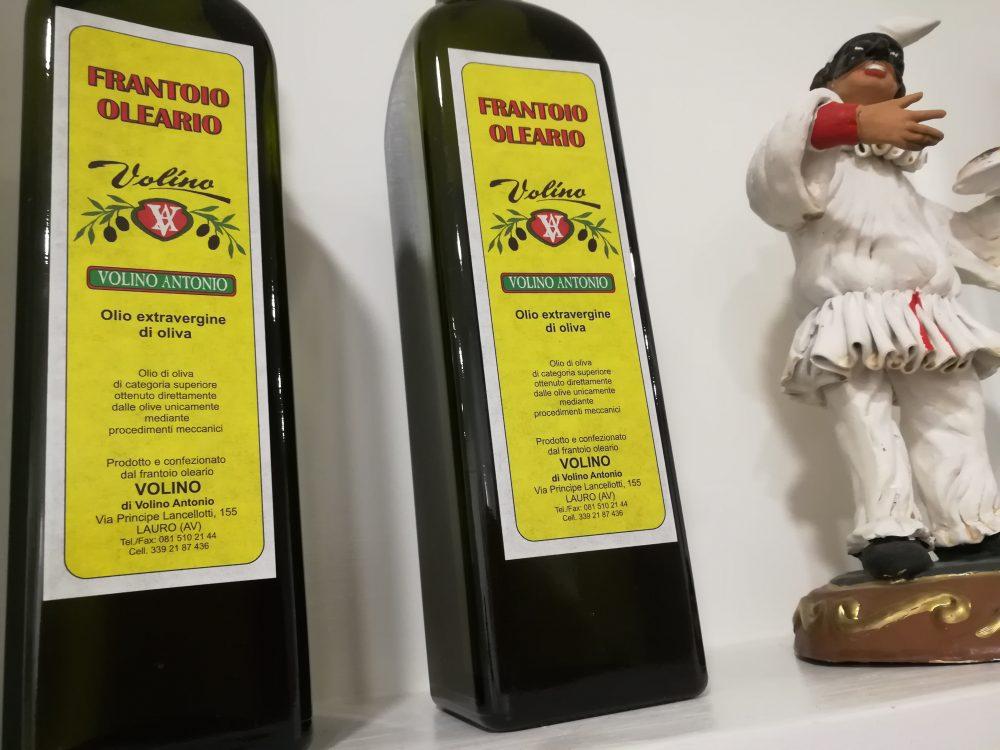 Pizzeria Avelli, L'olio extra vergine di oliva