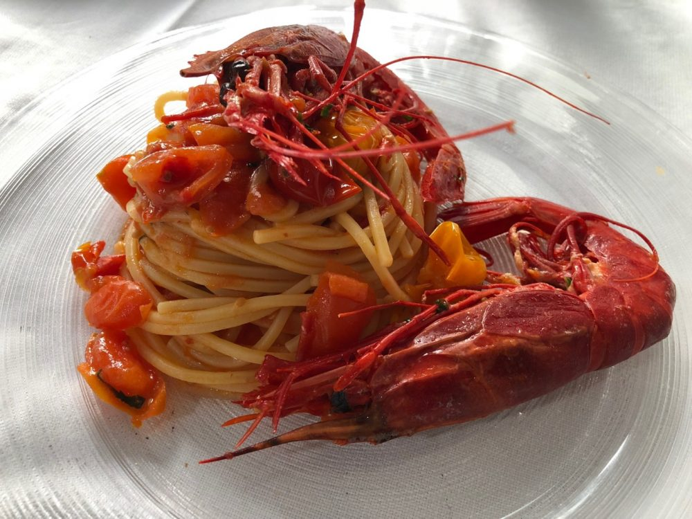 Made in Sud, spaghetti con carabineros