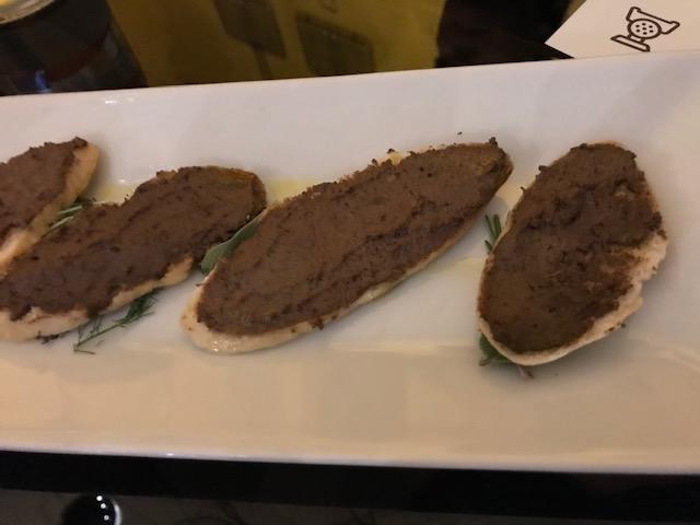 Mannaia - Crostini toscani con fegatini