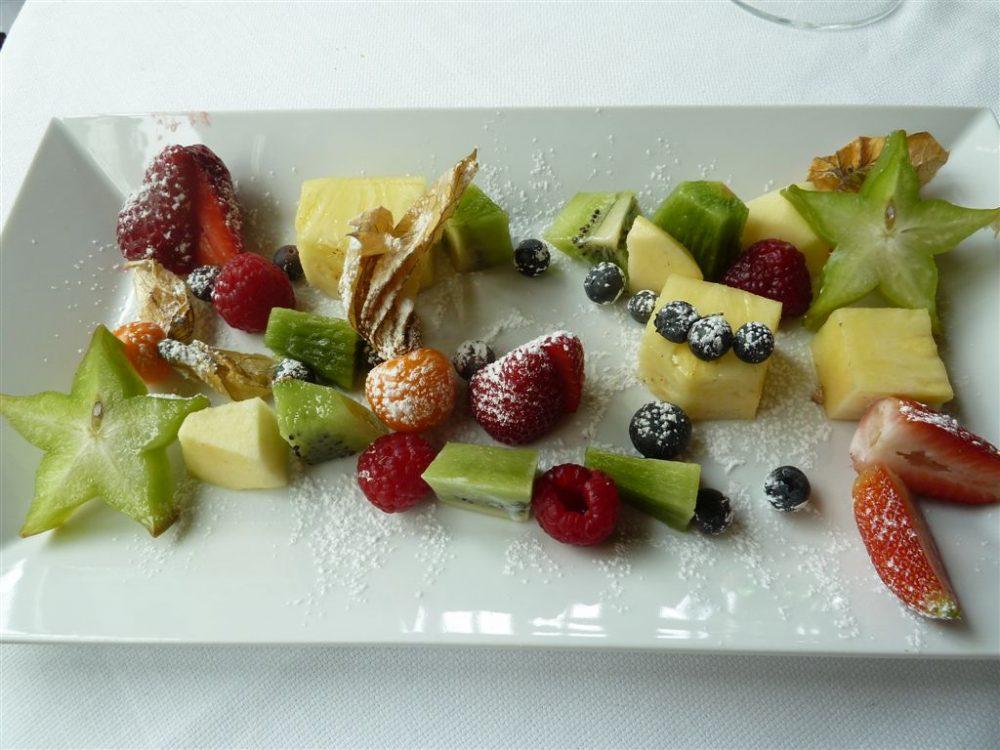 Opera Restaurant, Sorisole, composizione di frutta