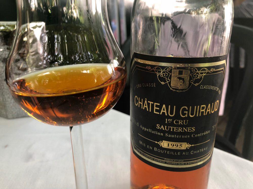Osteria Grand Hotel, Sauternes Chateau Guiraud Premier Cru Classe' 1995