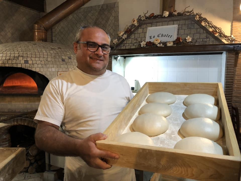 Peppino Simone, pizzeria lo Chalet