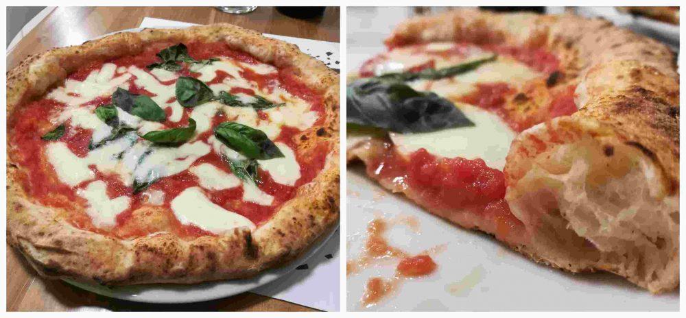 Pizzeria Avelli, la margherita