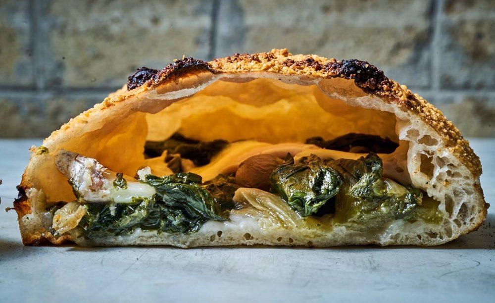 Pizzeria Franco - Franco Gallifuoco - Ripieno Grotta con le scarole