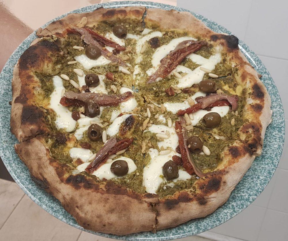 Pizzeria Impastili - Salvatore Costa - Pizza Nap Scarola