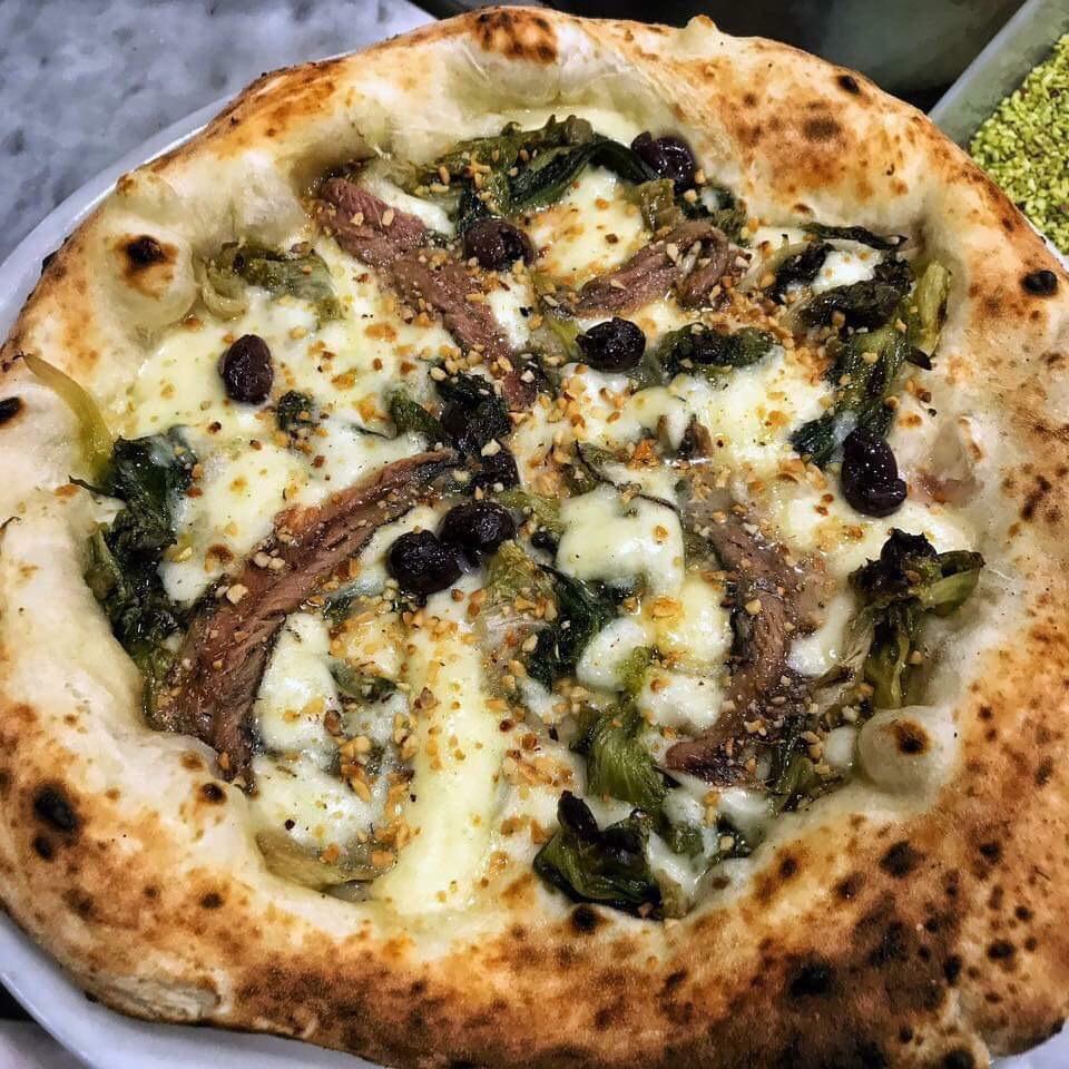 Pizzeria Le Parule' - Giuseppe Pignalosa - Pizza Scarurella