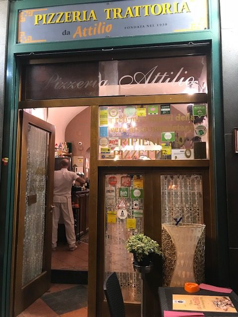 Pizzeria da Attilio - Ingresso