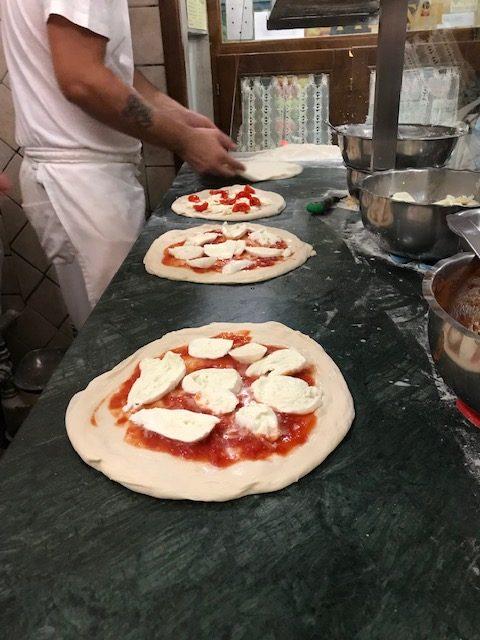 Pizzeria da Attilio - preparazione