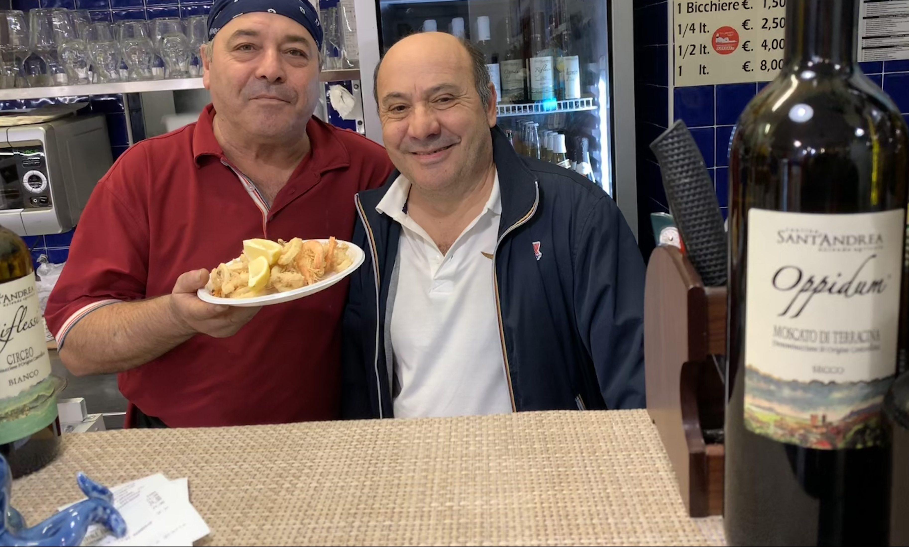 Roma Il Mare Di Terracina Pescheria Con Cucina In Zona Marconi Luciano Pignataro Wine Blog