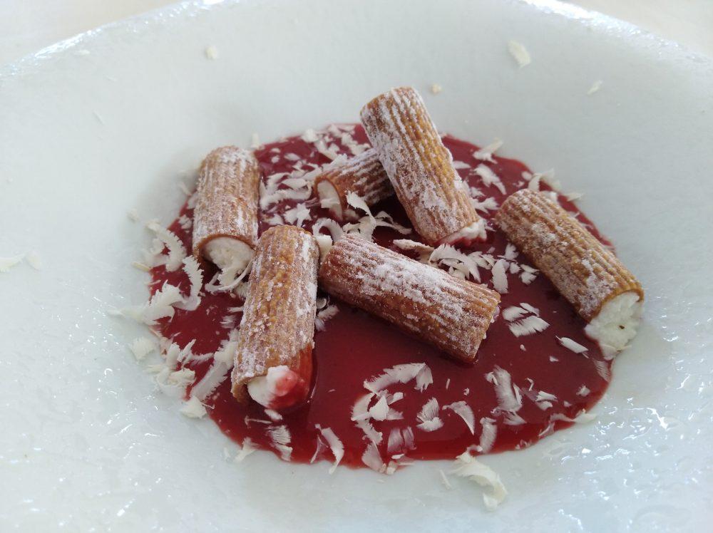 Ristorante Vigneto del Gusto Dolce ricordando la pasta al pomodoro