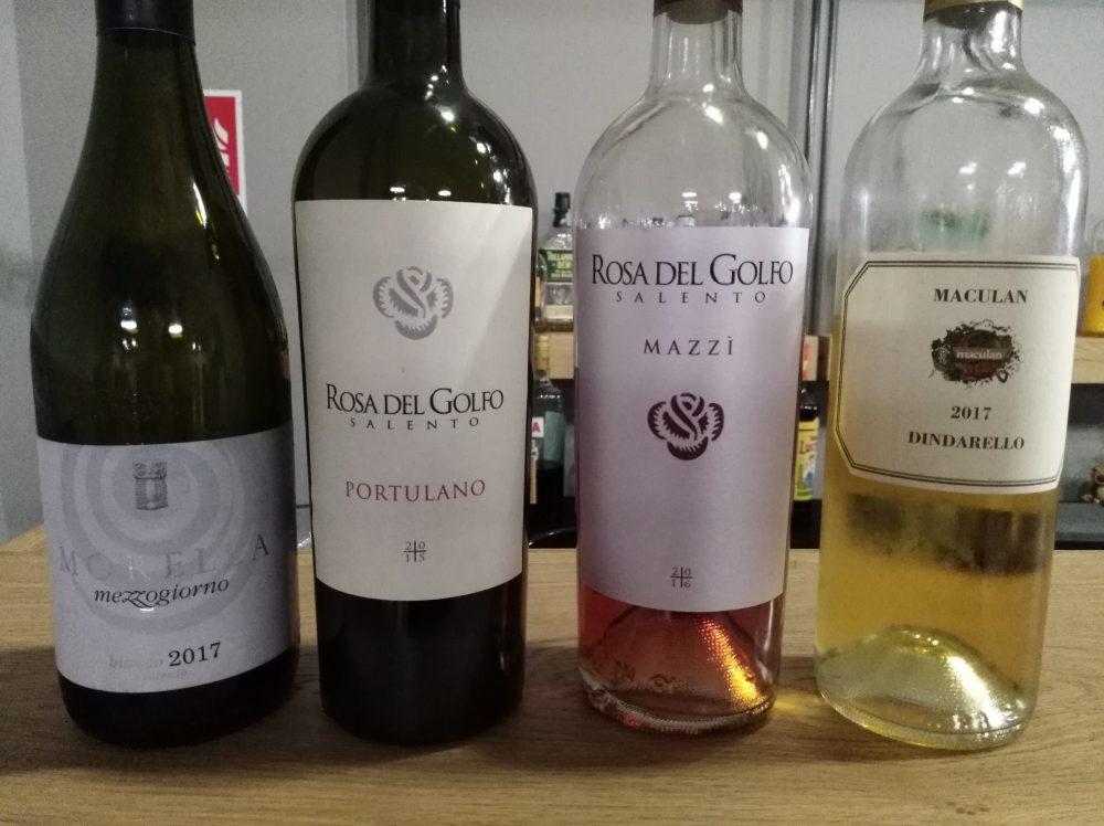 Trattoria Le Macare Vini degustati