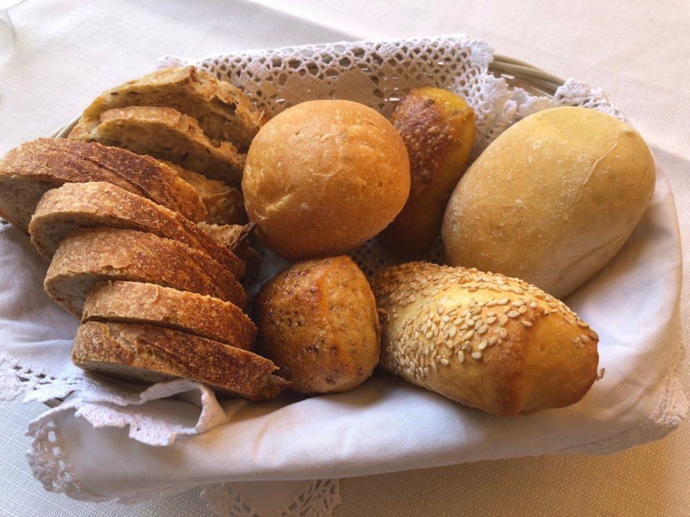 Trattoria Visconti, il cestino del pane