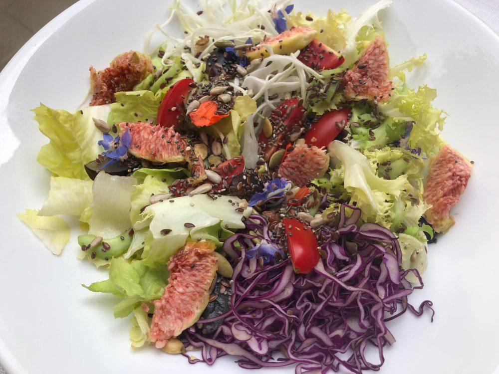 Trattoria Visconti, insalatina dell'orto