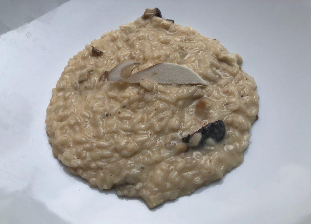 Trattoria Visconti, risotto ai funghi porcini