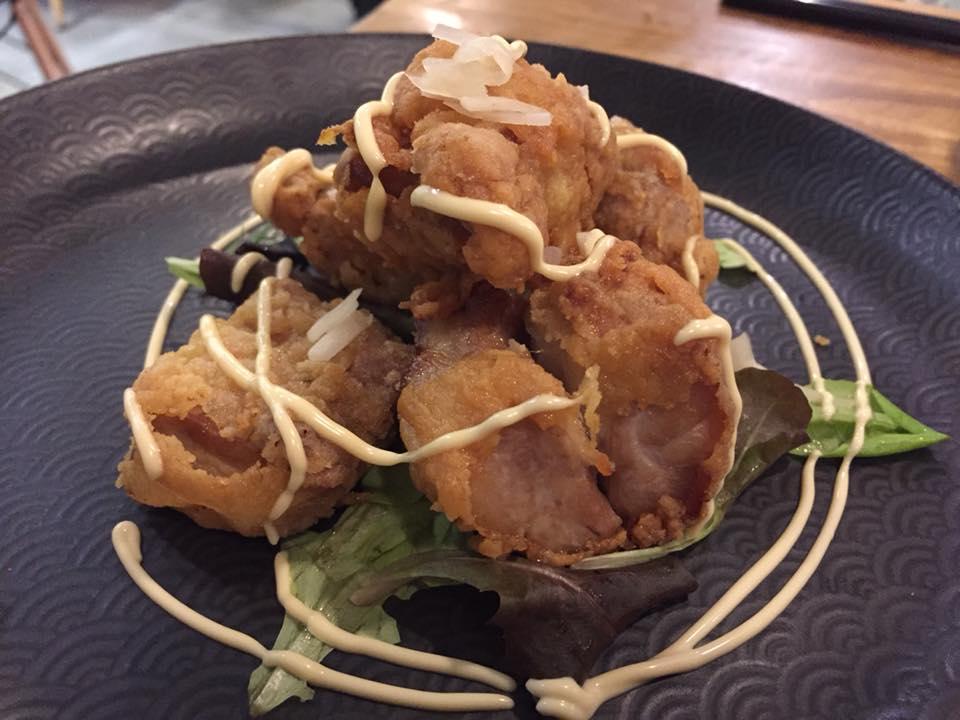 Umami, pollo fritto karaage