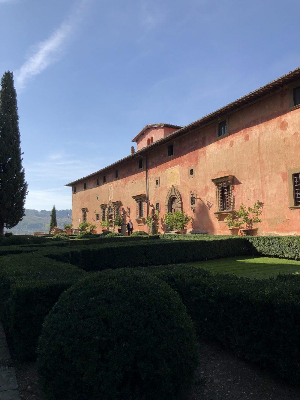 Vignamaggio - la villa