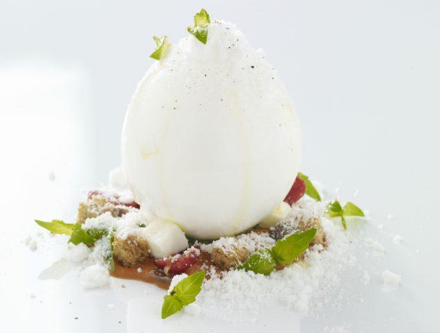 Caprese Dolce, Salato di Andrea Aprea, chef del Vun Ristorante