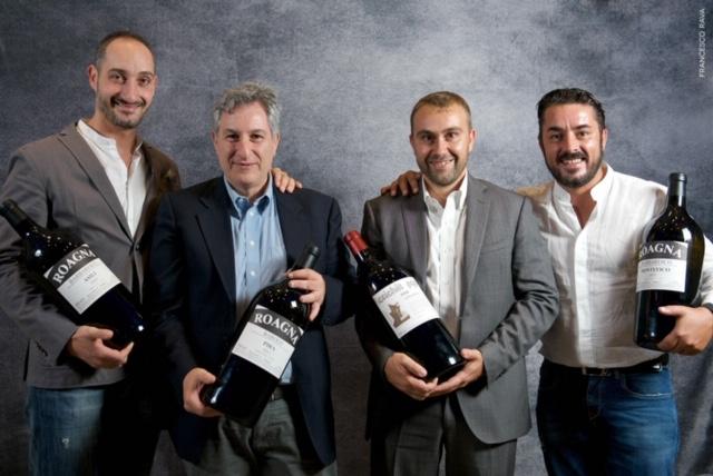 da sinistra - Gianni Sinesi, Gianni Fabrizio, Luca Roagna, Luca Martini