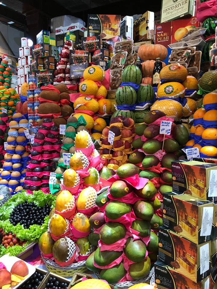 Frutta al mercato di San Paolo