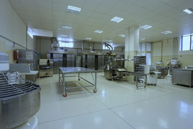 il nuovo laboratorio del Biscottificio Riccardi