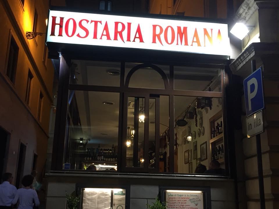 Hostaria Romana, l'insegna