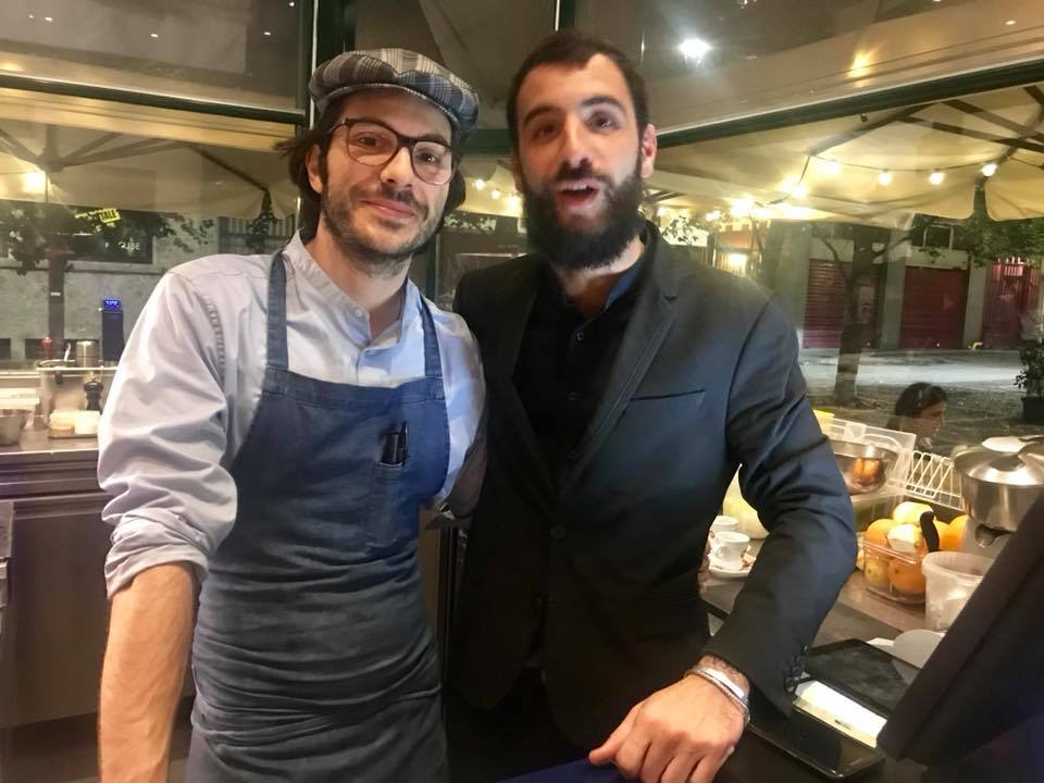 Exit a Milano, Claudio Rovai e Onofrio Biscione. Cucina e sala