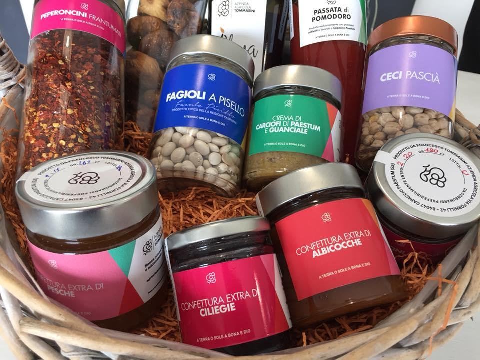 Azienda Agricola Tommasini, alcuni dei prodotti