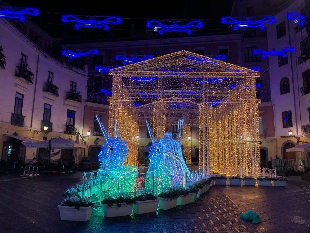 2018, Salerno, luci d'artista