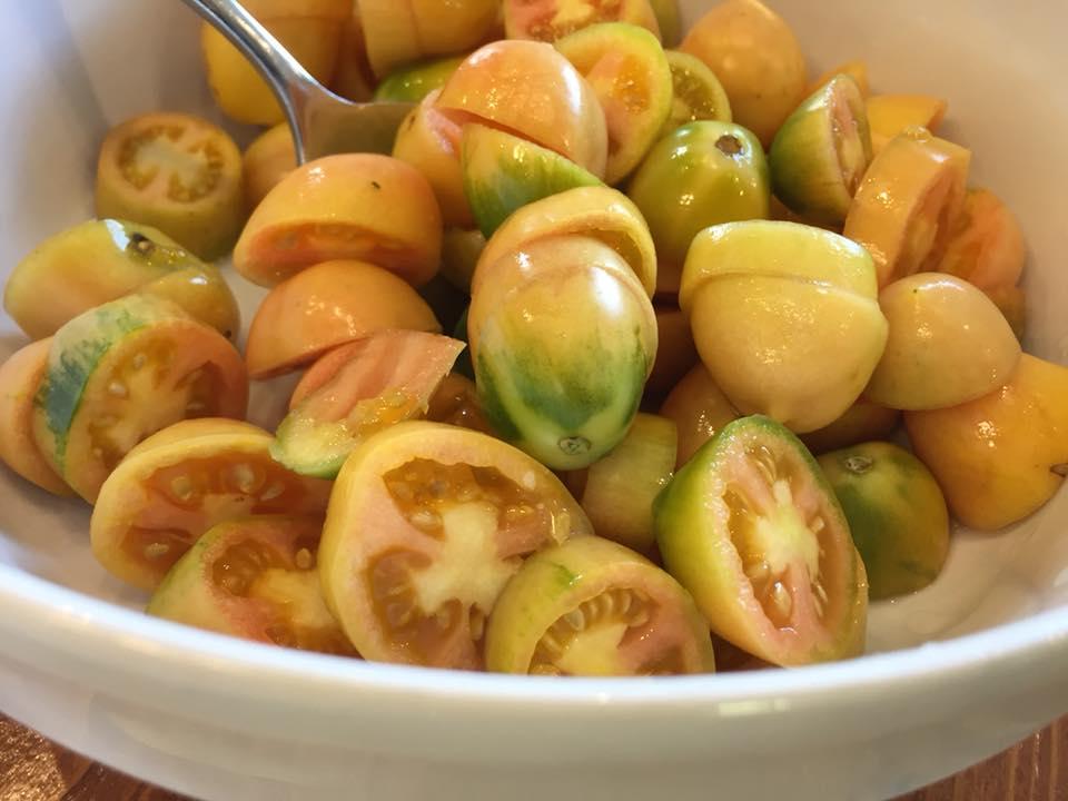 Insalata di pomodorini gialli di Rofrano