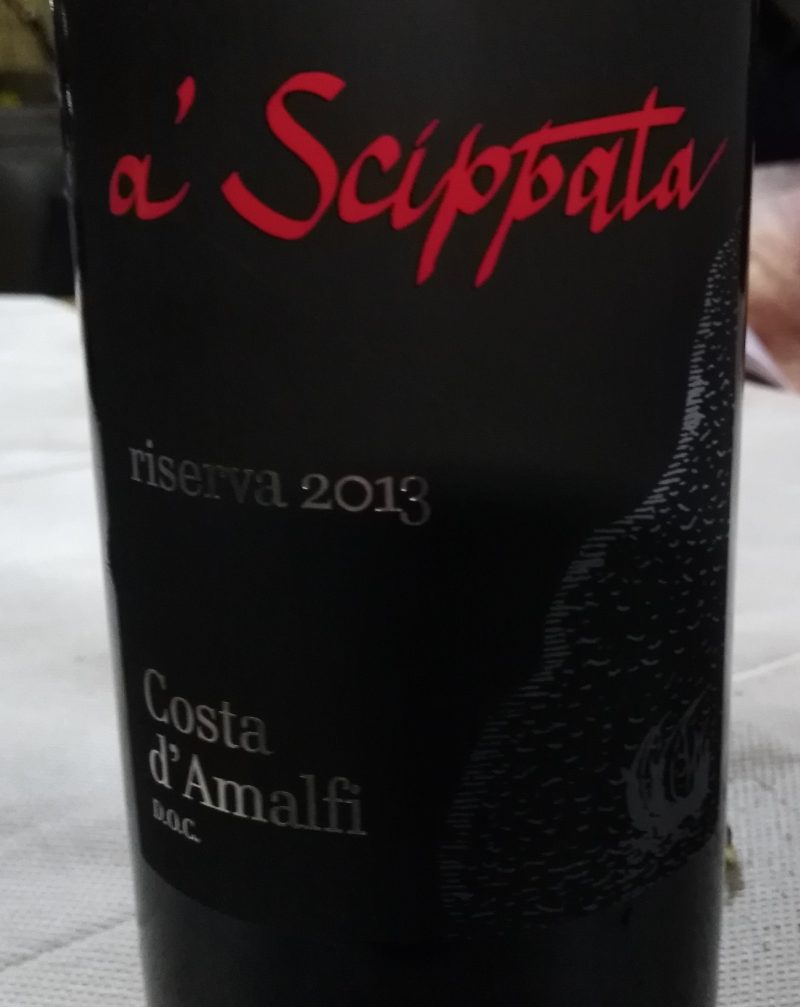 A' Scippata Costa d'Amalfi Riserva Doc 2013 Giuseppe Apicella