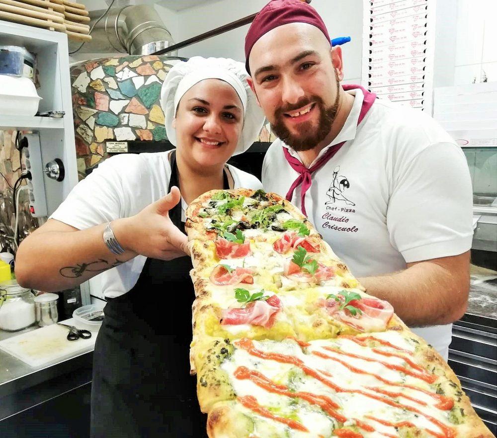 Anna e Claudio, gestori di Criscito's