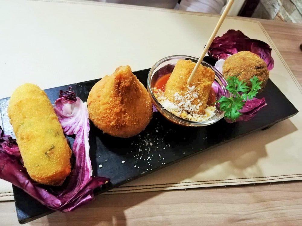 Criscito's - Combo di fritti, crocche, arancino, pacchero e polpetta
