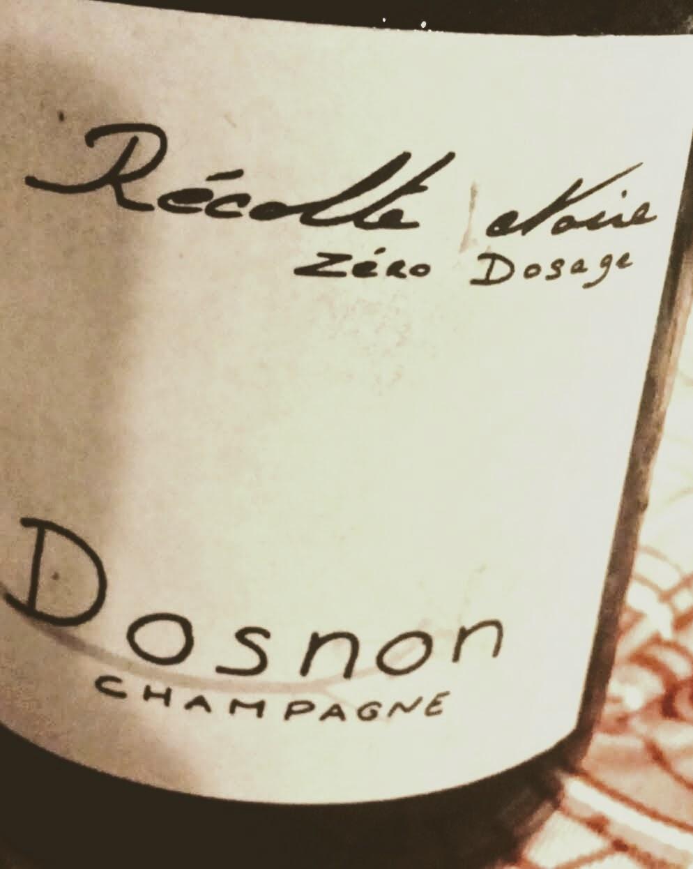 Champagne Dosnon Zero Dosage