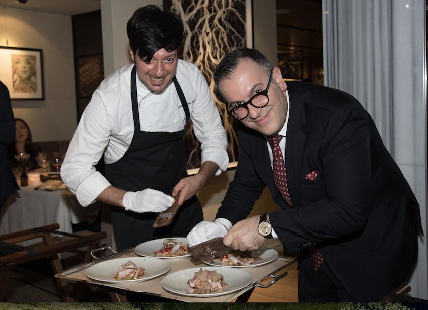 Chef Antimo e Marino Braccu