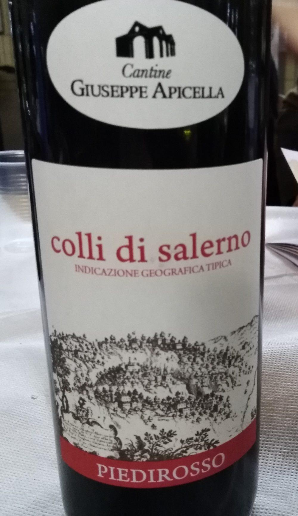 Colli di Salerno Piedirosso Doc 2017 Giuseppe Apicella