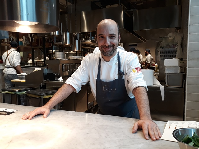 Executive chef di Eataly Roberto Cotugno