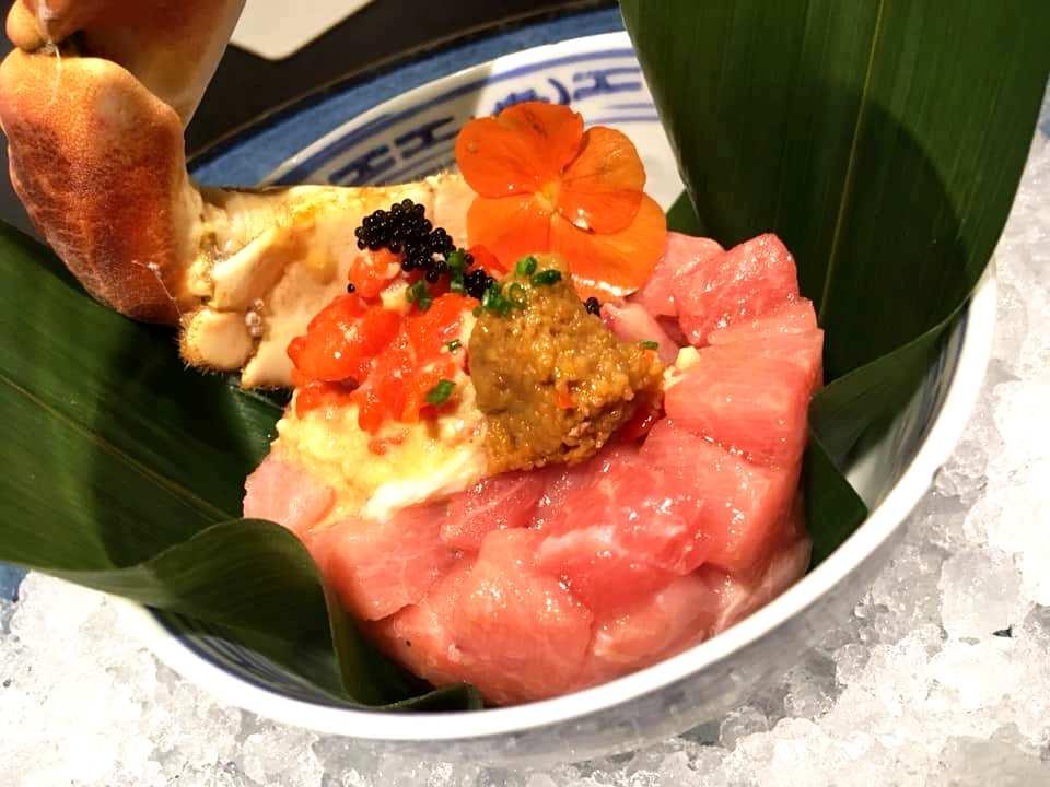 Japaj Sushi - Tartare di Otoro, King Crab & Uni
