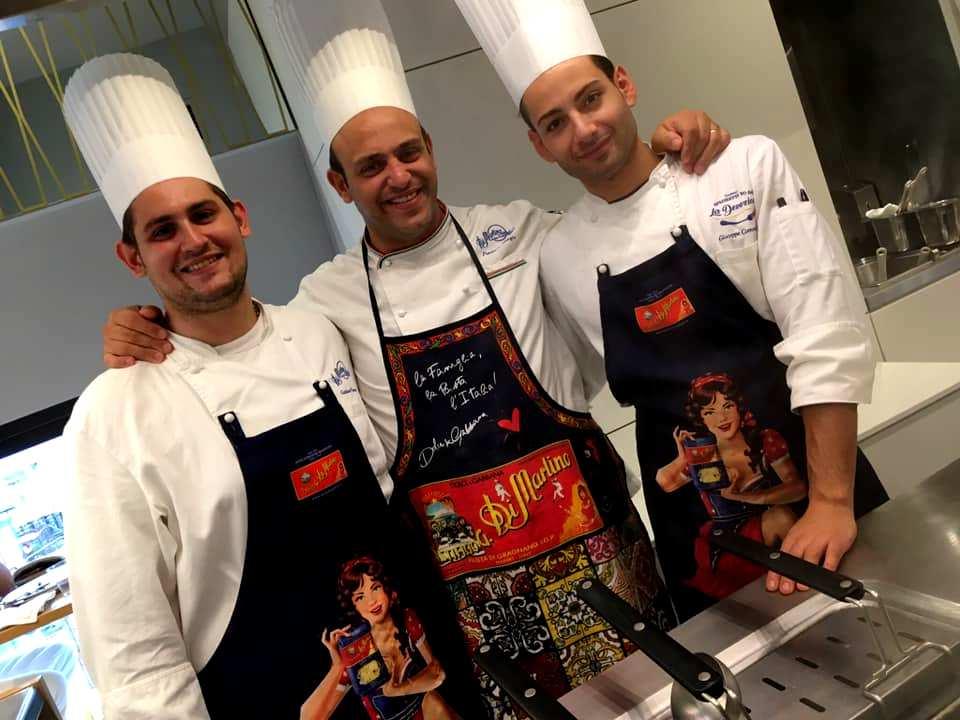 ierpaolo Giorgio & la squadra di cucina