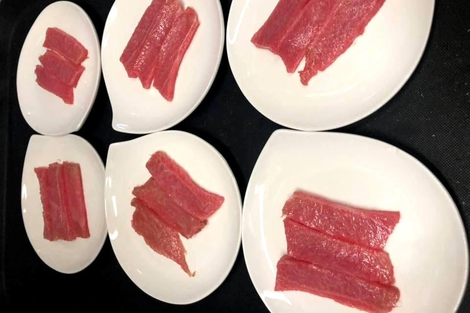 Sashimi di Ventresca di tonno