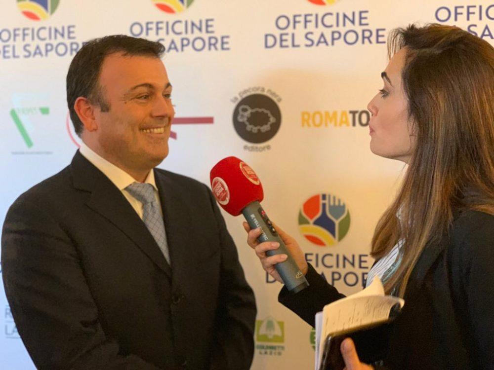 Fabio Campoli alla conferenza stampa