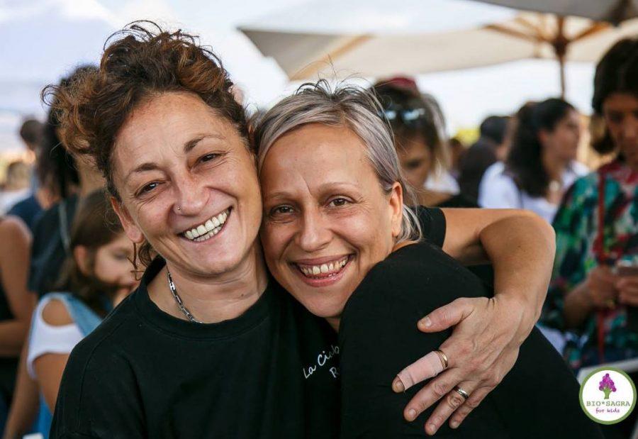 Francesca Ciucci e Mirka Guberti (foto FIORANO FOR KIDS 2018)